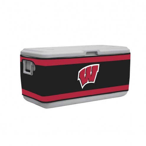Wisconsin Badgers Rappz 100qt Cooler Cover (Cooler not included)