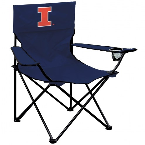 Illinois Fighting Illini Victory Tailgate Chair
