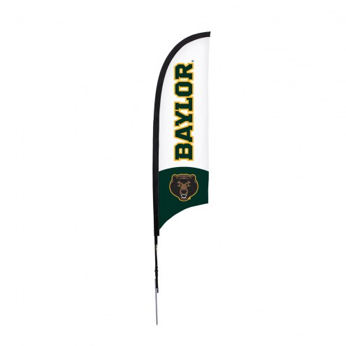 Baylor Bears 7' Razor Sail Sign with Ground Spike