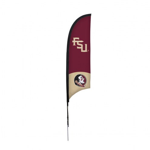 Florida State Seminoles 7' Razor Sail Sign with Ground Spike