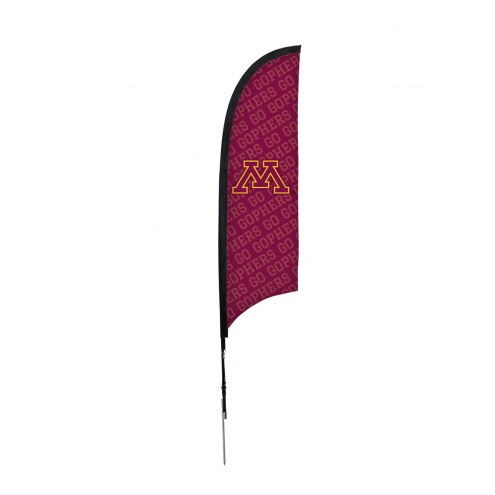 Minnesota Golden Gophers 7' Razor Sail Sign with Ground Spike