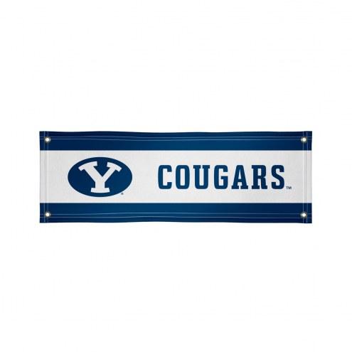 BYU Cougars 2' x 6' Vinyl Banner