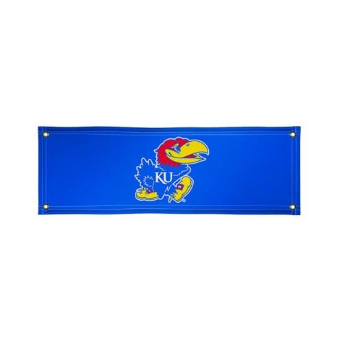 Kansas Jayhawks 2' x 6' Vinyl Banner