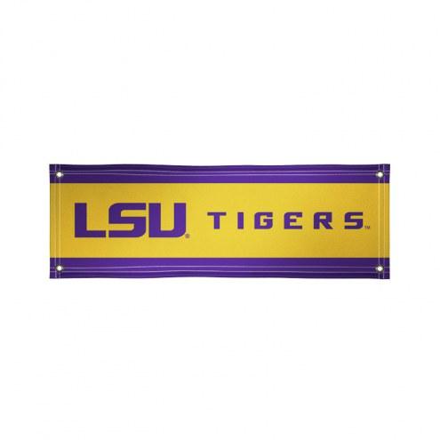LSU Tigers 2' x 6' Vinyl Banner