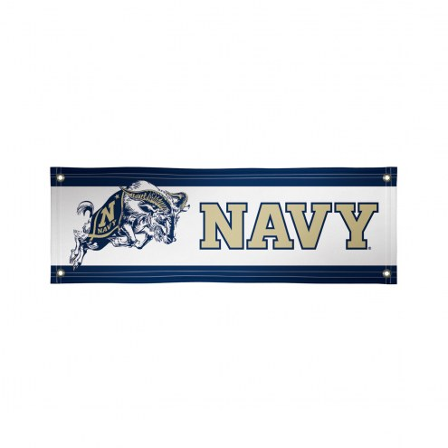 Navy Midshipmen 2' x 6' Vinyl Banner