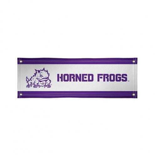 Texas Christian Horned Frogs 2' x 6' Vinyl Banner