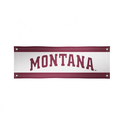 Montana Grizzlies 2' x 6' Vinyl Banner