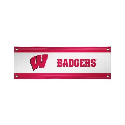 Wisconsin Badgers 2' x 6' Vinyl Banner