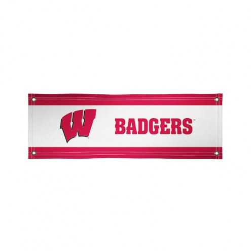 Wisconsin Badgers 2' x 6' Vinyl Banner