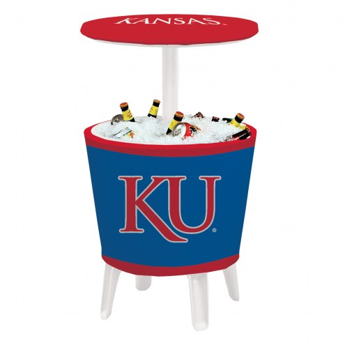 Kansas Jayhawks Four Season Event Cooler Table