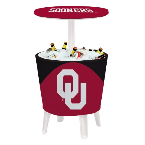 Oklahoma Sooners Four Season Event Cooler Table