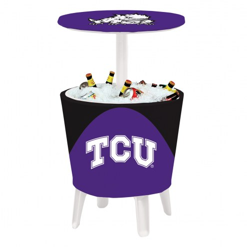 Texas Christian Horned Frogs Four Season Event Cooler Table