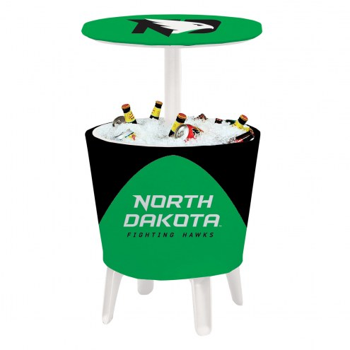 North Dakota Fighting Hawks Four Season Event Cooler Table