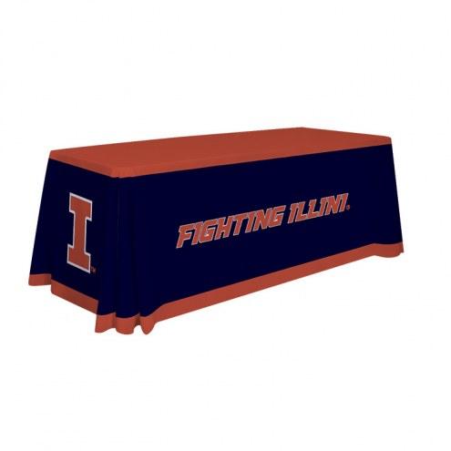 Illinois Fighting Illini 6' Table Throw