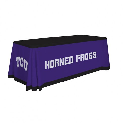 Texas Christian Horned Frogs 6' Table Throw