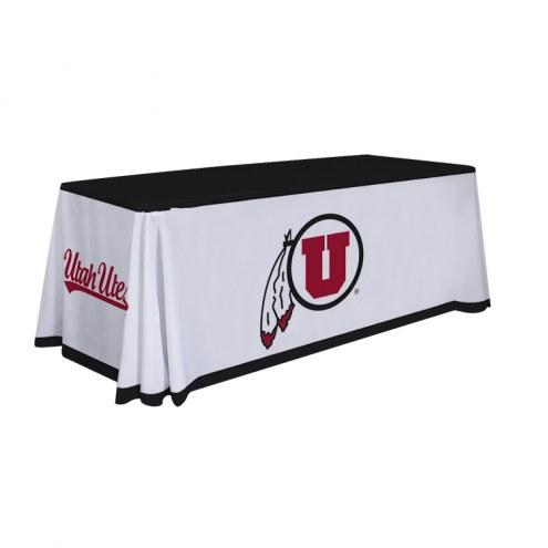 Utah Utes 6' Table Throw