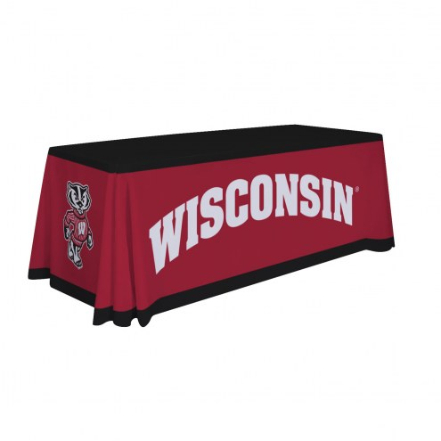 Wisconsin Badgers 6' Table Throw