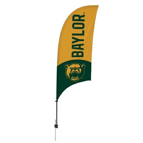 Baylor Bears 7.5' Razor Feather Flag with Ground Spike