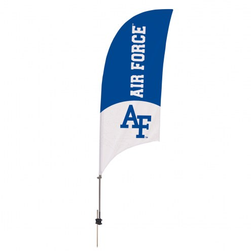 Air Force Falcons 7.5' Razor Feather Flag with Ground Spike