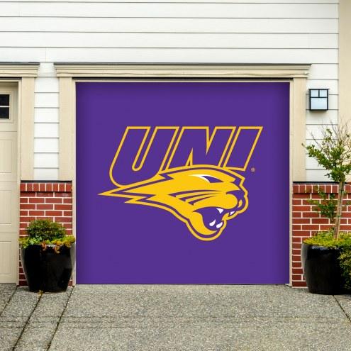 Northern Iowa Panthers Single Garage Door Banner
