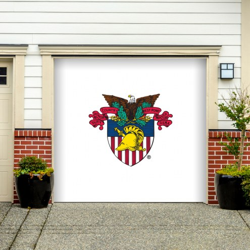 Army Black Knights Single Garage Door Banner