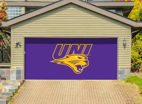 Northern Iowa Panthers Double Garage Door Banner