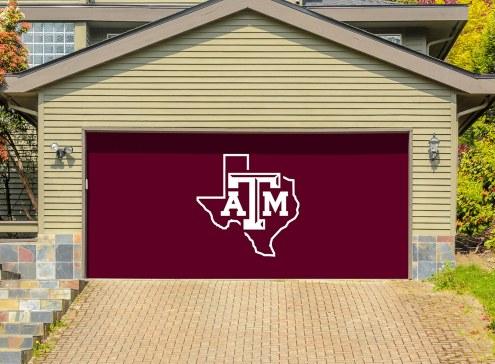 Texas A&M Aggies Double Garage Door Banner