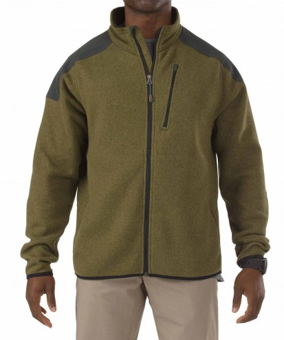 5.11 Tactical Men's Full Zip Sweater