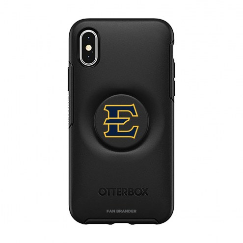 East Tennessee State Buccaneers OtterBox Symmetry PopSocket iPhone Case