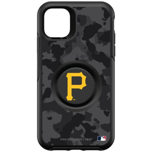 Pittsburgh Pirates OtterBox Urban Camo Symmetry PopSocket iPhone Case