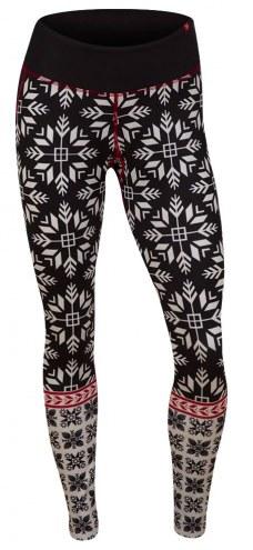 Krimson Klover Women's Nordic Snowflake Leggings