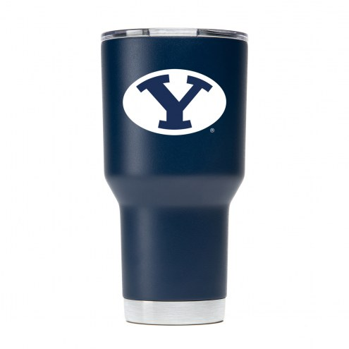 BYU Cougars 30 oz. Stainless Steel Powder Coated Tumbler