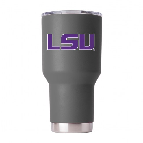 LSU Tigers 30 oz. Stainless Steel Powder Coated Tumbler