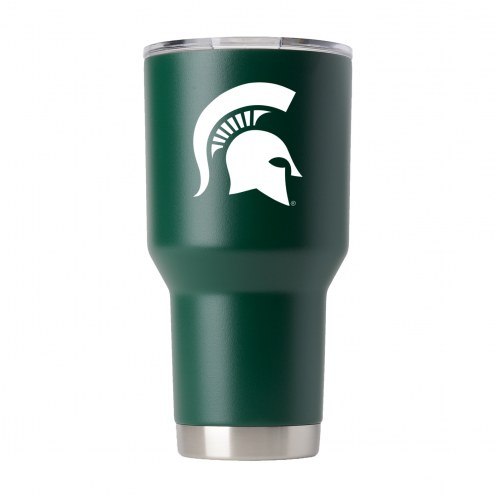 Michigan State Spartans 30 oz. Stainless Steel Powder Coated Tumbler