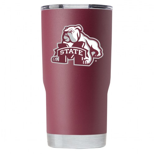 Mississippi State Bulldogs 20 oz. Stainless Steel Powder Coated Tumbler