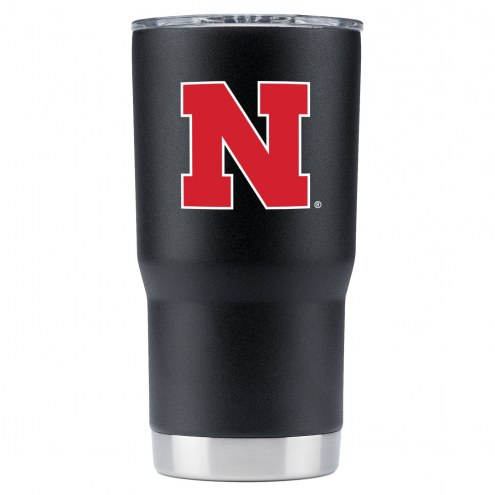 Nebraska Cornhuskers 20 oz. Stainless Steel Powder Coated Tumbler