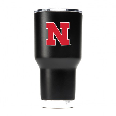 Nebraska Cornhuskers 30 oz. Stainless Steel Powder Coated Tumbler