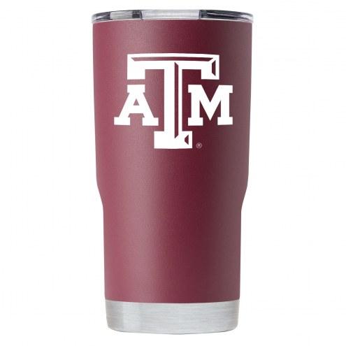 Texas A&M Aggies 20 oz. Stainless Steel Powder Coated Tumbler