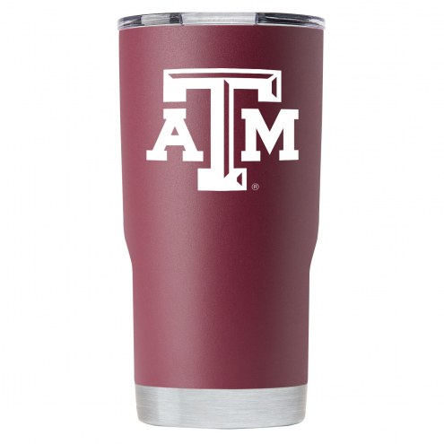 Texas A&M Aggies 20 oz. Stainless Steel Powder Coated Tumbler