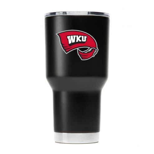 Western Kentucky Hilltoppers 30 oz. Stainless Steel Powder Coated Tumbler