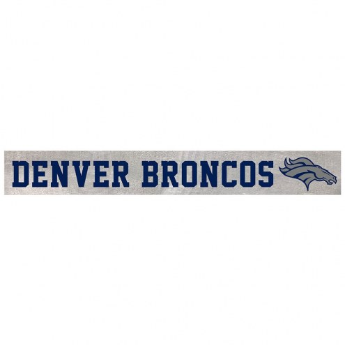Denver Broncos Barn Board