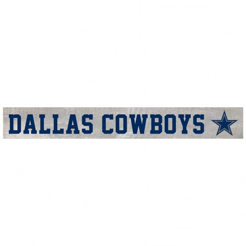 Dallas Cowboys Barn Board