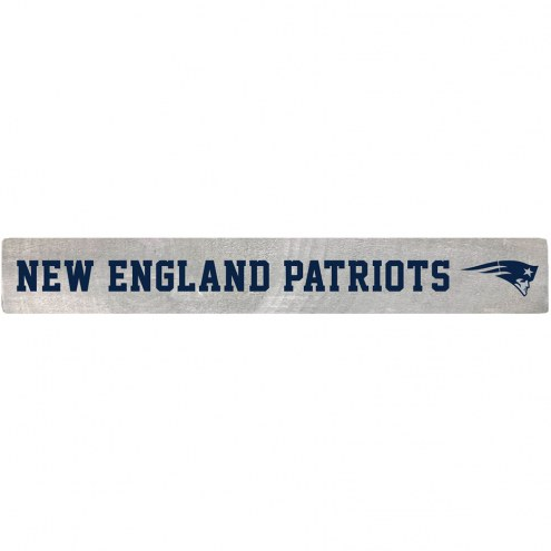 New England Patriots Barn Board