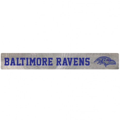Baltimore Ravens Barn Board