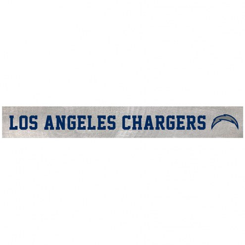 Los Angeles Chargers Barn Board
