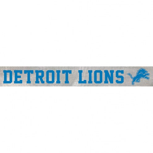 Detroit Lions Barn Board