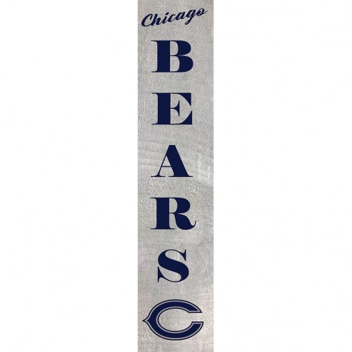 Chicago Bears Vertical Barn Board