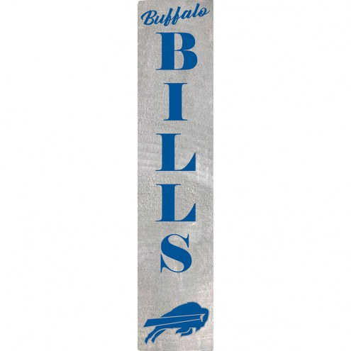 Buffalo Bills Vertical Barn Board