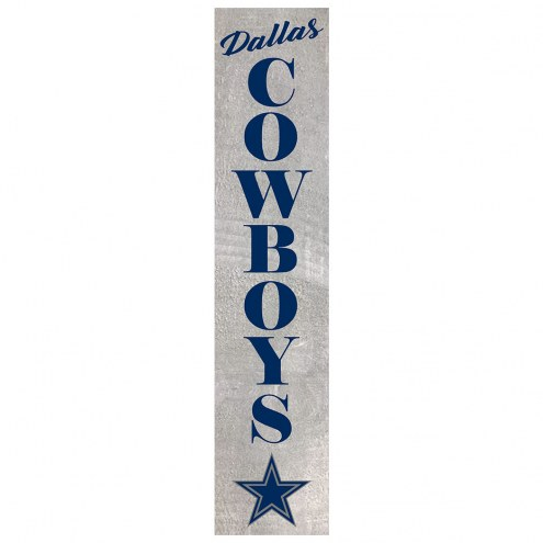 Dallas Cowboys Vertical Barn Board