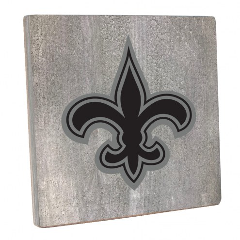 New Orleans Saints Vintage Square Wall Sign
